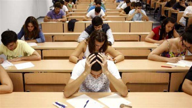 estrés y exámenes