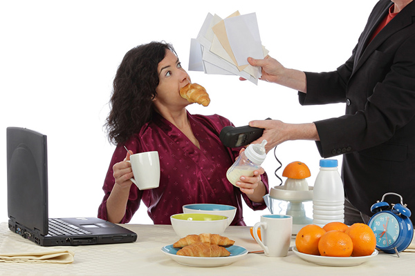 cómo afecta el estrés a la alimentación