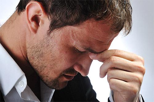 el estrés en el hombre