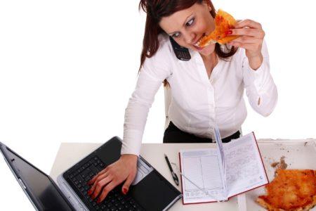 la alimentación y el estrés