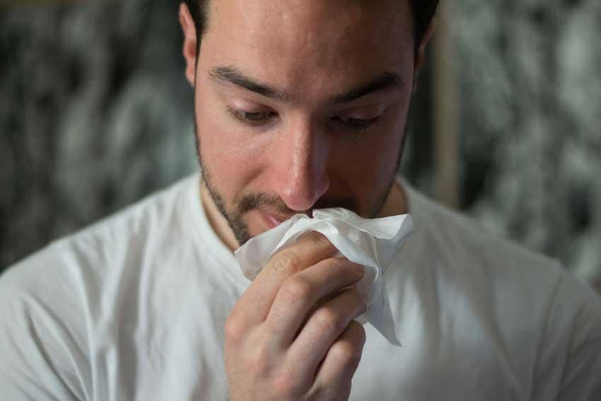 Estres y gripe