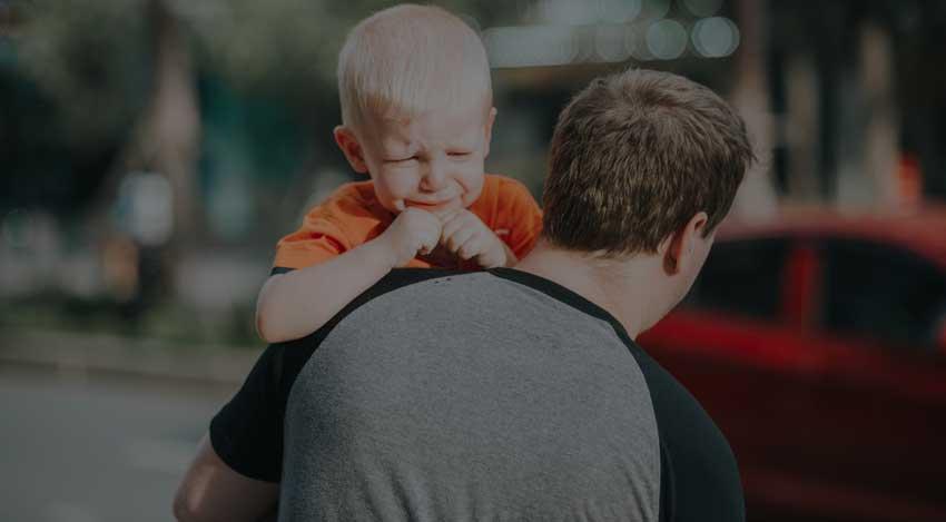 Estrés padres primerizos