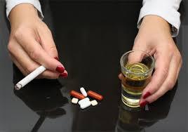 sustancias y estres