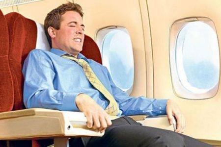 Estrés y miedo al avión